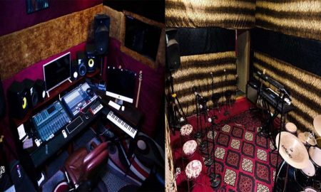 Ghanaian Producer Outdoors Ultra-Modern Studio Worth Ghc2 million