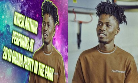 Kwesi Arthur Thrills Fans At 2019 Ghana Party In The Park