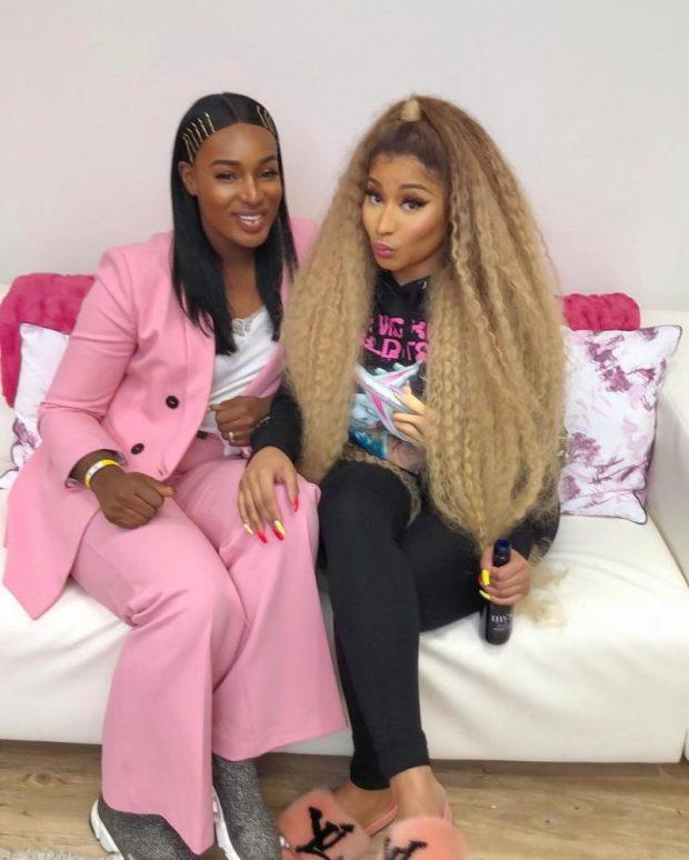 Nicki Minaj Hints On Signing Ghanaian Singer, Nana Fofie