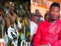 Asamoah Gyan and Junior Agogo