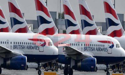 British Airways, British Airways cancels flights to Italy