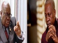 Nana Addo Gives John Mahama 'Yawa' At Kofi Annan Peace & Security Summit