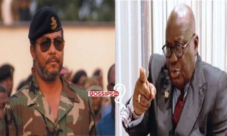 JJ Rawlings and Nana ADDO