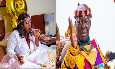 Tracey Boakye, Tracey Boakye and Asantehene