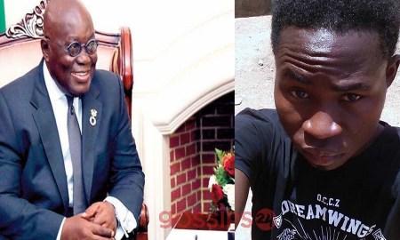 Nana Addo, Angry Ghanaian youth,
