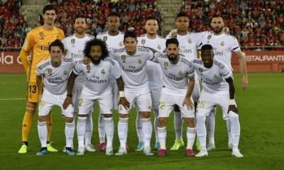 Real Madrid, Real Madrid starting XI confirmed