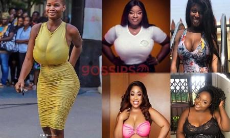 List of Ghanaian celebrities with huge boobs