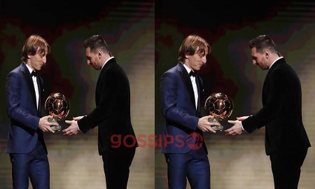 Luka Modric, Messi, Modric and Messi