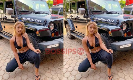 Efia Odo jeep