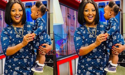 Nana Ama McBrown climax Baby Maxin's birthday on UTV