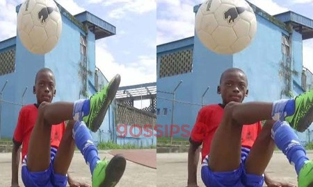 An 11-year-old boy sets Guinness World record for football freestyle
