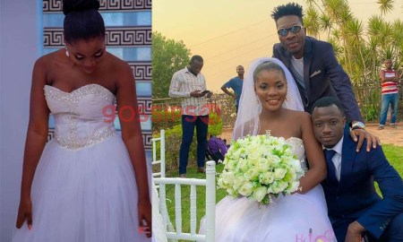 Legon girl who slapped her boyfriend with chalewote gets married