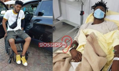 Ogidi Brown in serious health condition after 8 days of being hospitalized 1