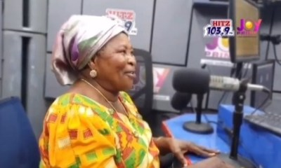 Watch Funny Video of Akua Donkor reciting 'The Pledge' on radio 3