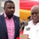 John Dumelo and Akufo-Addo