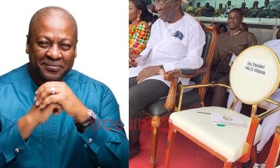 John Mahama conspicuously missing at Ghana's 63rd Independence day celebration (Photo) 1