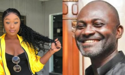 Efia Odo and Kennedy Agyapong
