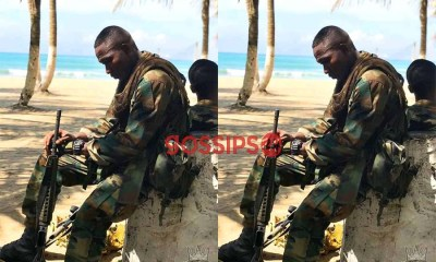 Soldier shares a touching message on social media about lockdown in Ghana