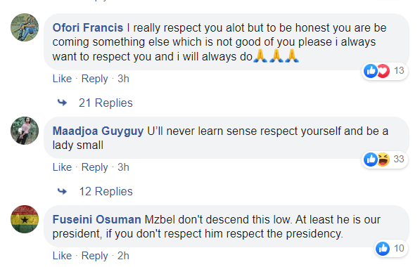 """You haven't been same since you were f!ngered on stage"" - Ghanaians bash MzBel for disrespecting Nana Addo 6"
