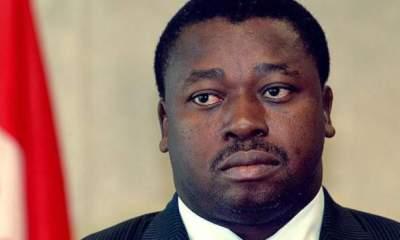 Togo's President Faure Gnassingbé