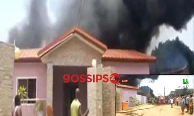 10 Houses on Fire At Abgobga