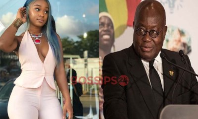 Efia Odo hints on voting for Nana Addo for giving Ghanaians free water