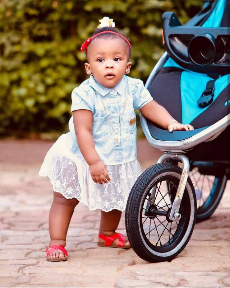 Baby Maxin | Top 10 most popular Ghanaian celebrity kids | Credit: Gossips24.com