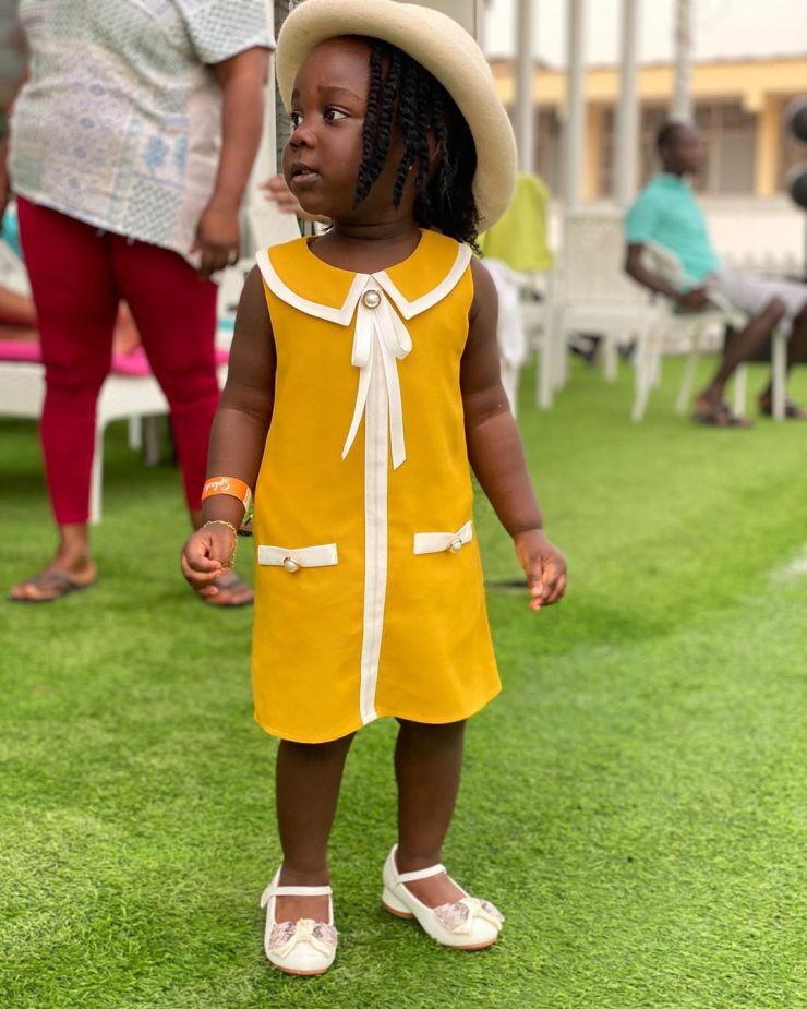 Cathrine Jidula | Top 10 most popular Ghanaian celebrity kids | Credit: Gossips24.com