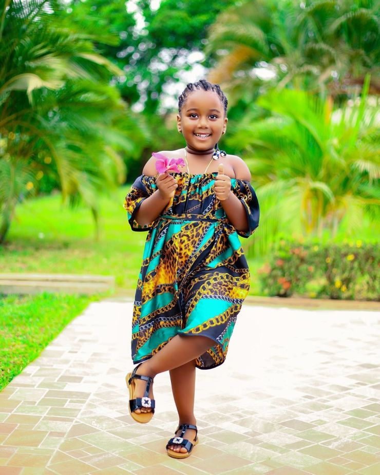 Nalia4Real | Top 10 most popular Ghanaian celebrity kids | Credit: Gossips24.com