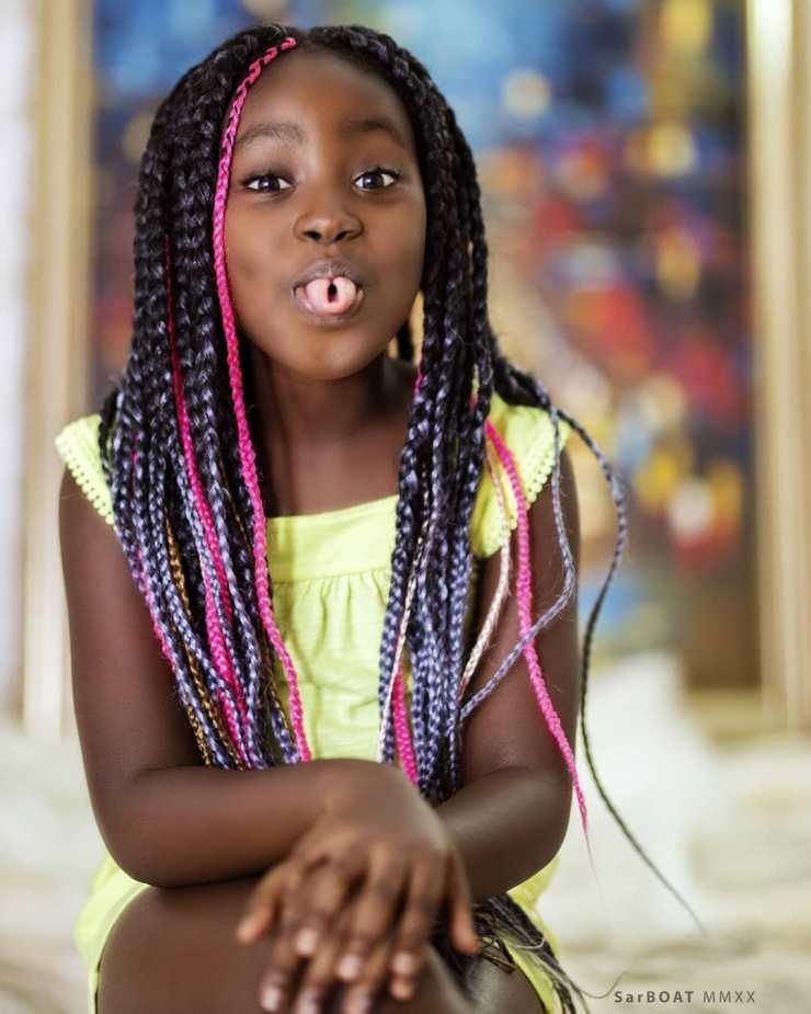 Sante Nsiah-Apau | Top 10 most popular Ghanaian celebrity kids | Credit: Gossips24.com