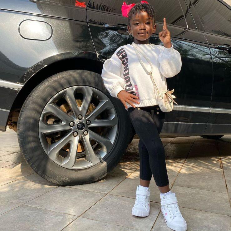 Titi Sarkcess | Top 10 most popular Ghanaian celebrity kids | Credit: Gossips24.com
