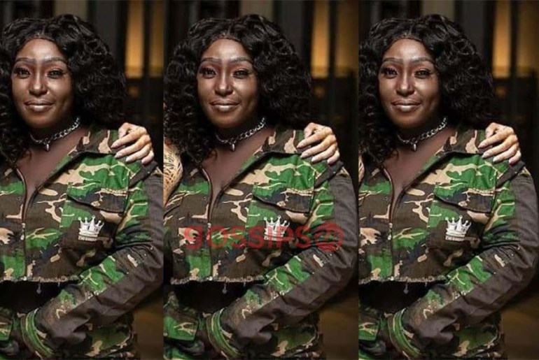 Eno Barony scares Ghanaians with her 'kaakamotobi' makeup