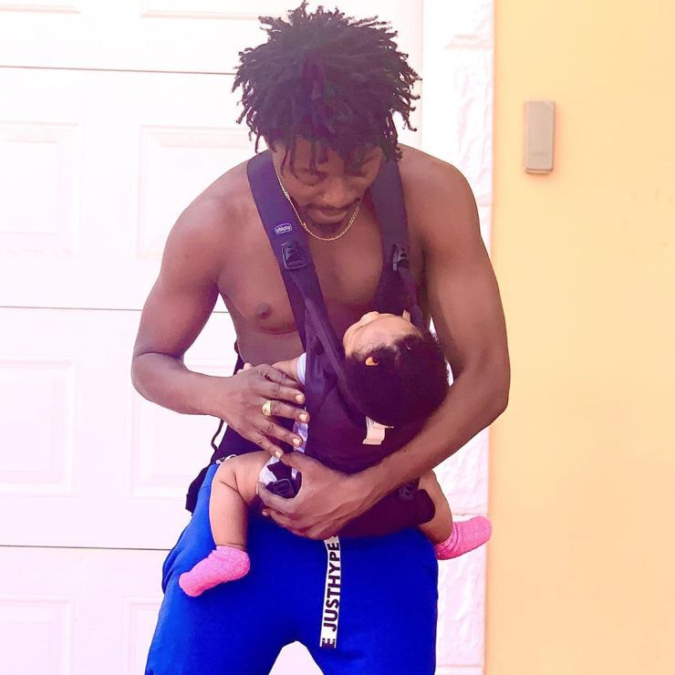 Father Of The Moment -   Killbeatz Flaunts  His Toddler Daughter For The First Time 2
