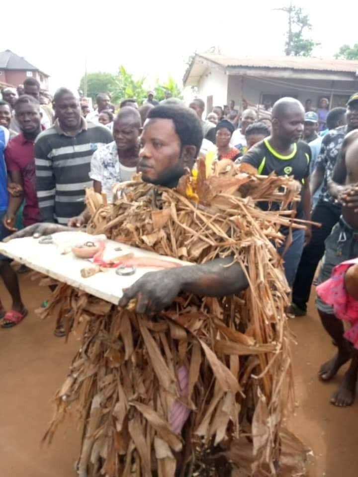 Pastor caught and disgraced for planting juju on his cousin's land