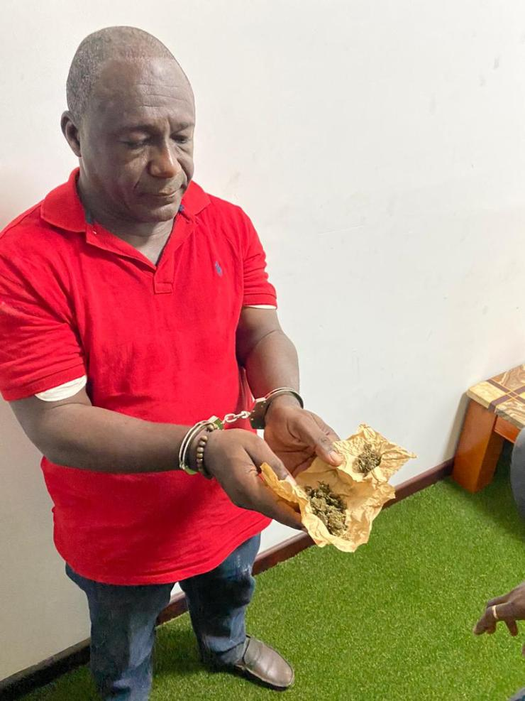 NDC Pastor Who Threatened To Kill EC Boss Busted With 'weed' (Video)