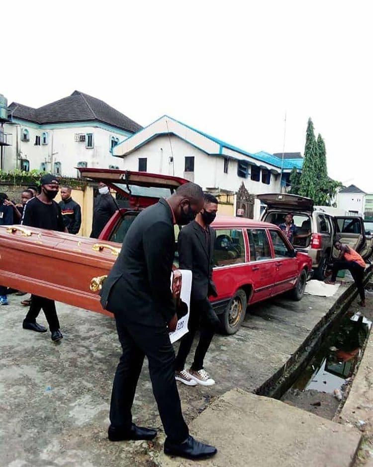 Pastor reburies George Floyd in Nigeria
