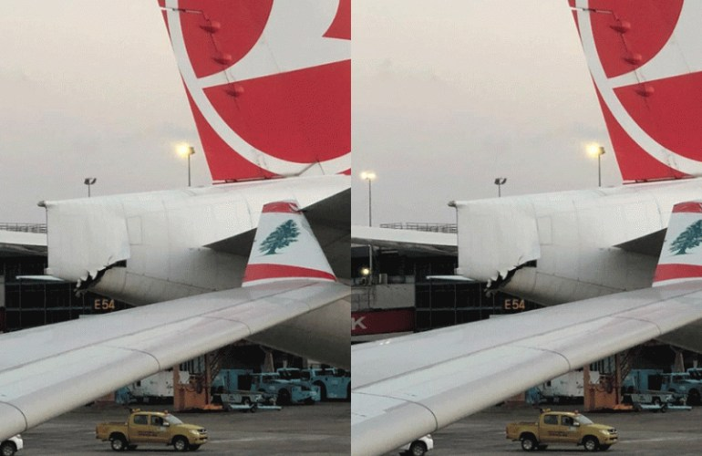Two planes collide at Lagos Airport