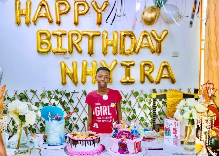 Shatta Wale plays the role of a perfect daddy at his daughter's birthday (video) 1