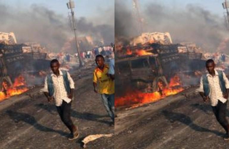 Hidden bomb explodes at Labadi