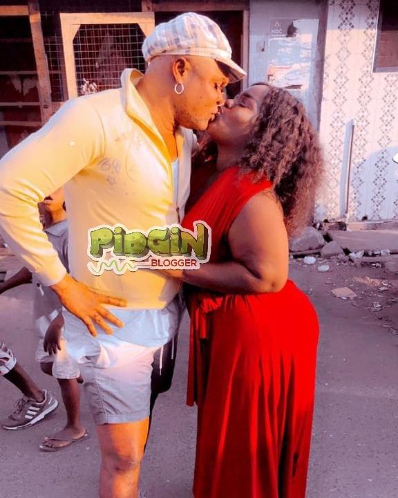 136988237 1102915103481596 6145876174960280489 n - Patapaa's Ex, Queen Peezy Finds New Love, Kisses Her New Boyfriend, Bukom Banku (Video)