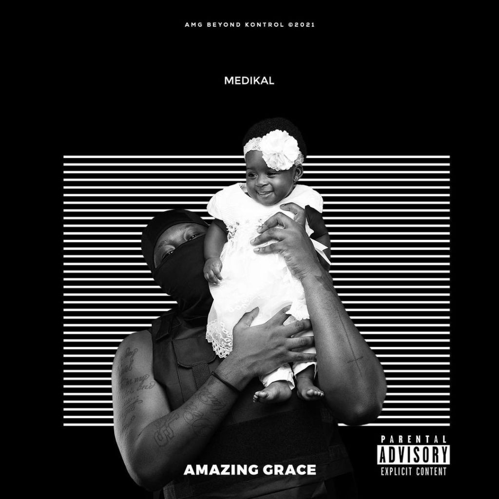 AMG Medikal Shows The Face Of His Daughter, Island, For The First Time (Photos) 1