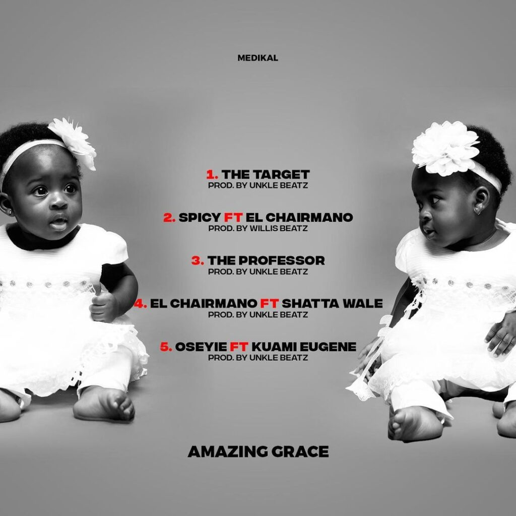 AMG Medikal Shows The Face Of His Daughter, Island, For The First Time (Photos) 2