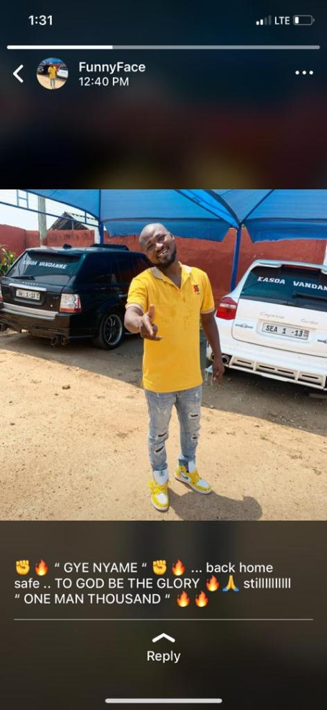 Just In: Funny Face Seen At His House 'Relaxing' Despite Court Order To Go To Psychiatric Hospital (Photo) 2