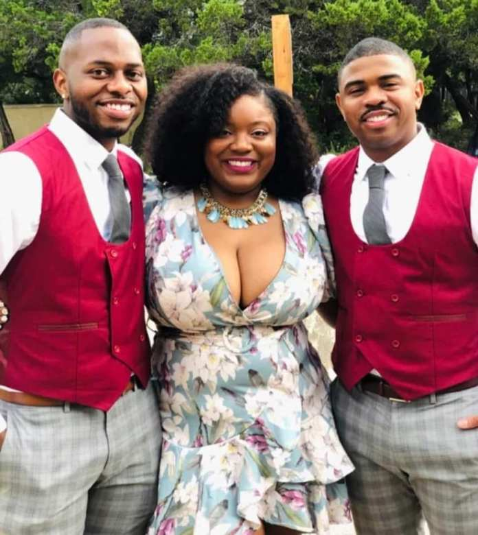 South African Woman Flaunts Her Two Husbands (Photos) 2