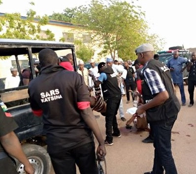 Graphic Pictures Of 5 Notorious Armed Robbers And Kidnappers Shot Dead In Katsina