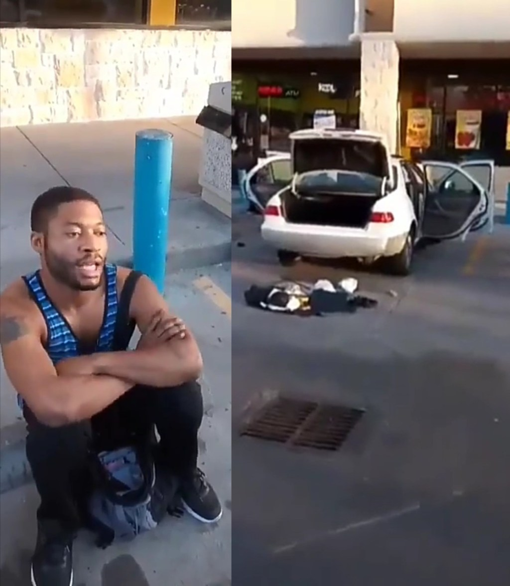 So Hilarious! Man Destroys His Car Saying His Sugar Daddy, Lover, And Rival