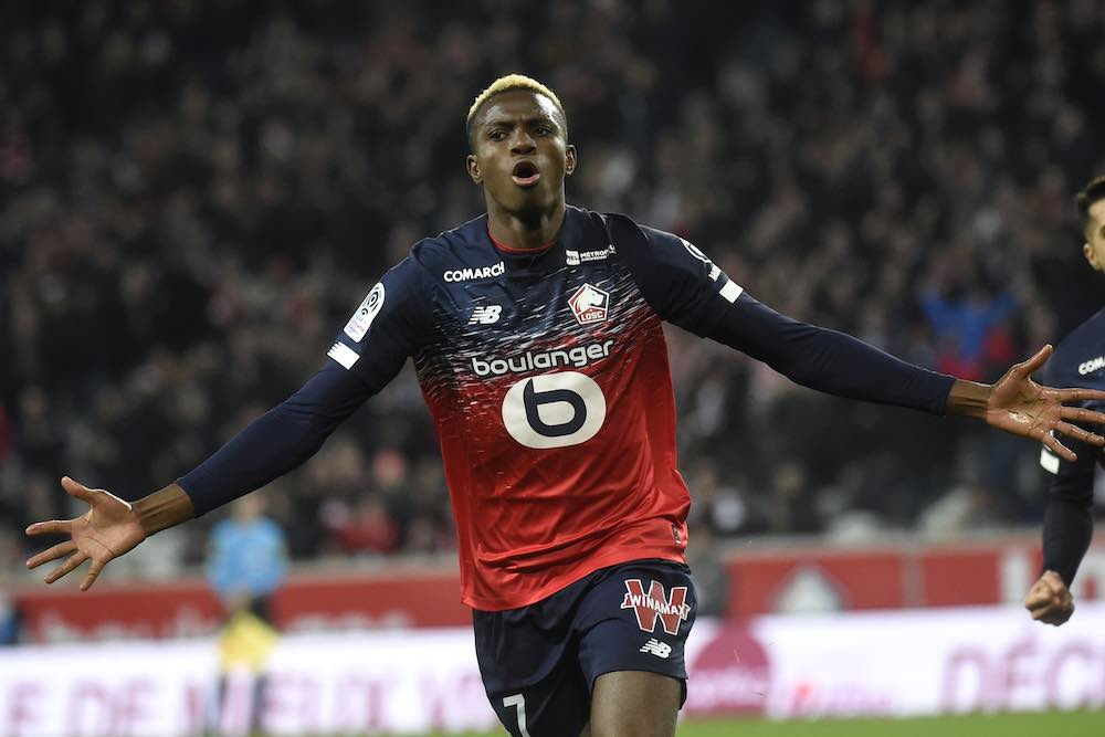 Victor Osimhen Lille Scout Report
