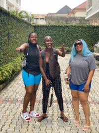 Social media users react as lesbian couples pose for a photo in Lagos (Photos)