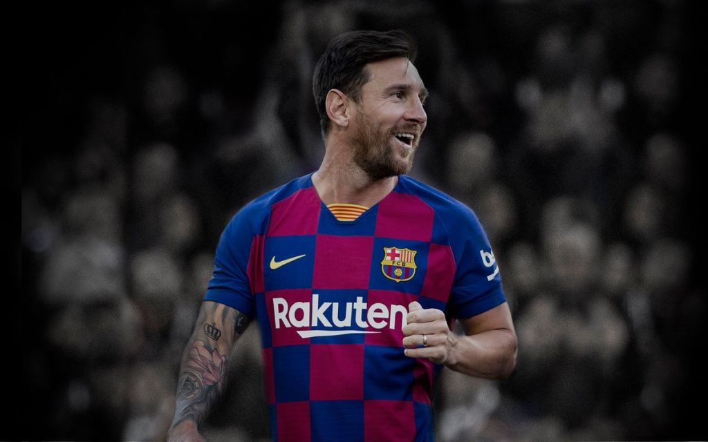 Barcelona captain Lionel Messi