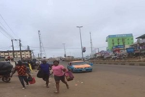 Heavy shooting in Akure